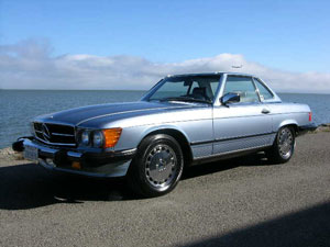 Mercedes 560SL Appeal